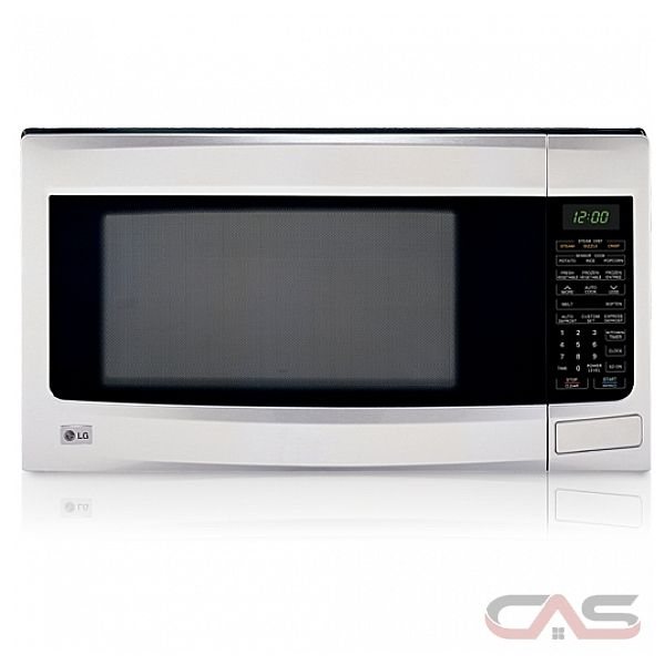 Lg Countertop Microwave Reviews : LG LMS2073SS Countertop Microwave, 23 7/8 in, 2.0 cu.ft, with 1100W ...