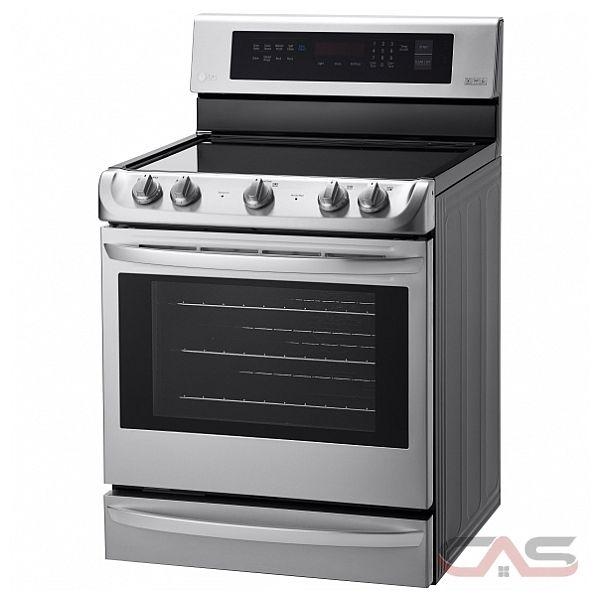 Lg lre4213st range electric range 30 inch convection 5 burners glass burners electric - Inch electric range reviews ...