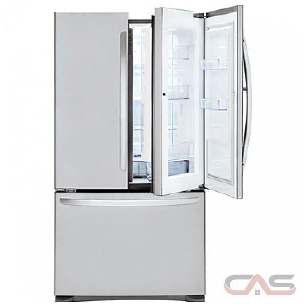 Kitchen Lg Refrigerator French Doors Lfcs