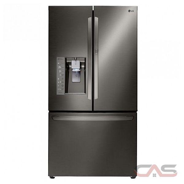 Lg Lfxs30766d French Door Refrigerator 36 Quot Width Thru