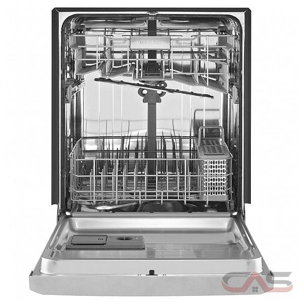 how to clean exterior of maytag stainless dishwasher