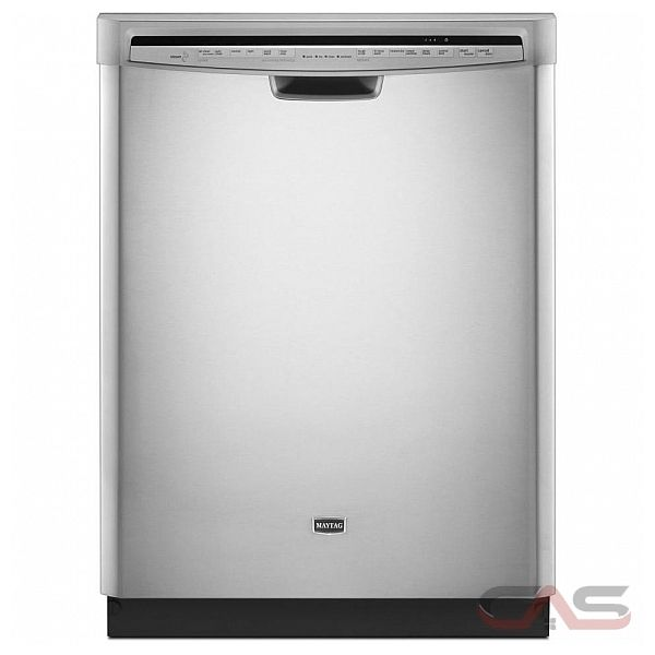Maytag MDB7749SBM Built In Dishwasher 34 1/2 in,14 Place Settings  with Jetclean Plus Steam cycle, Industry's Most Powerful Motor Available, Stainless Steel Interior, ENERGY STAR qualified