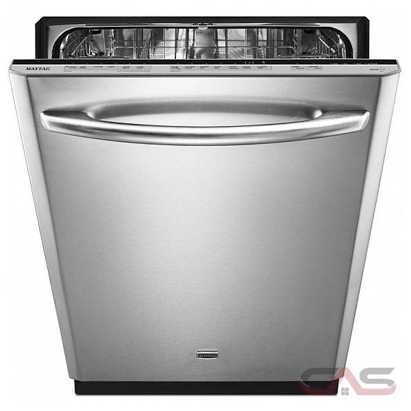 Maytag Mdb8969sd 24 In 47 Decibel Built In Dishwasher: Maytag MDB8959SBW Dishwasher Canada