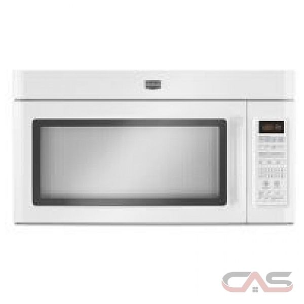 Maytag YMMV5208WW Over the Range Microwave, 30in, 2.0 cu.ft, with Stainless Steel Microwave (Interior),  1050 Watts of Power, 300 CFM Airflow with Four Adjustable Fan Speeds, Precision Touch Controls