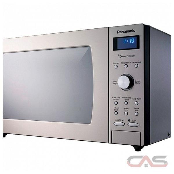Panasonic NNSD797S Countertop Microwave, 21 7/8