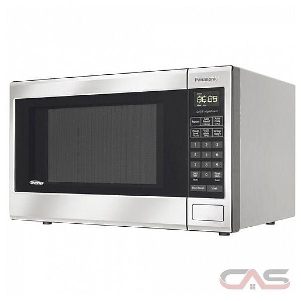 Panasonic NNST671S Countertop Microwave, 1.2 cu.ft., 1200W, Inverter ...