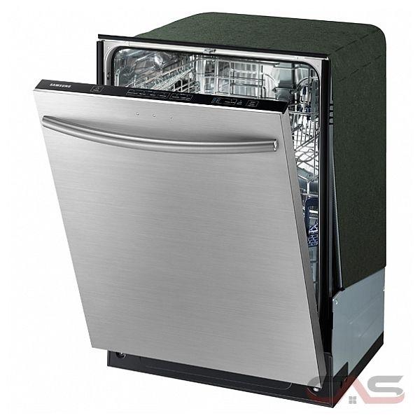 Shop Samsung 55 Decibel Built In Dishwasher Stainless: DW80F600UTS Samsung Dishwasher Canada
