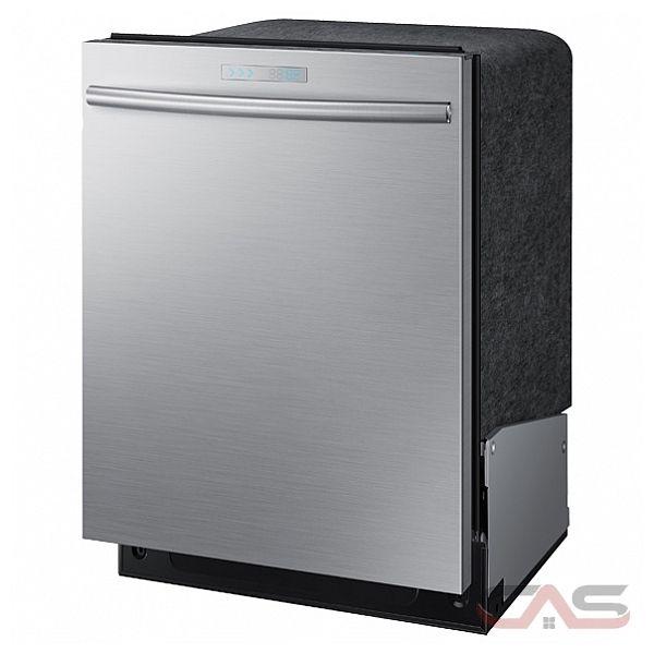 Shop Samsung 55 Decibel Built In Dishwasher Stainless: DW80H9950US Samsung Dishwasher Canada