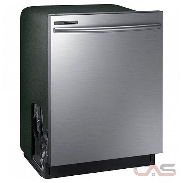 Shop Samsung 55 Decibel Built In Dishwasher Stainless: Samsung DW80M2020US Dishwasher Canada
