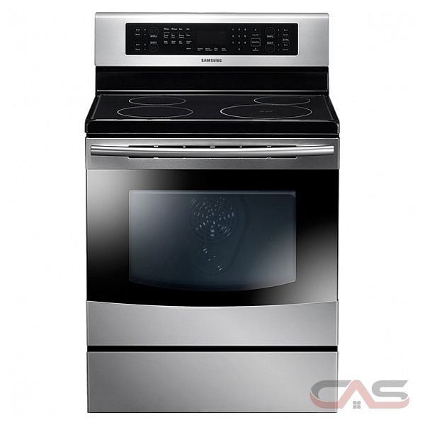 Samsung NE595N0PBSR Freestanding Induction Range, 30 in, 5.9 Cu.Ft, with Convection, Self Cleaning Oven, Delay Bake and Boil Alert