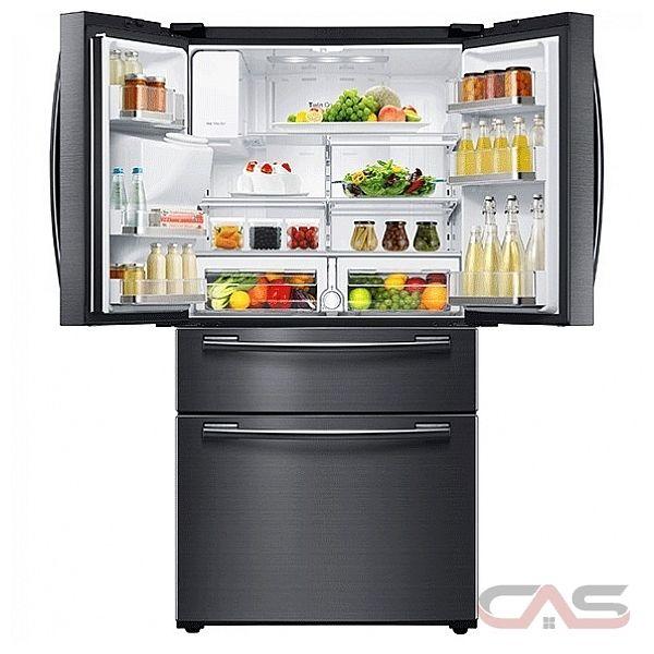 samsung rfhmedbsg refrigerator canada  price reviews  specs