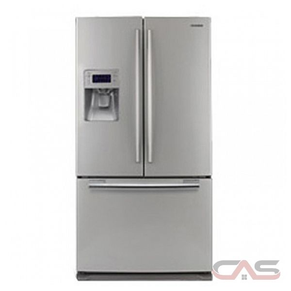 Samsung Rf267abpn 26 Cu Ft French Door Refrigerator With Twin