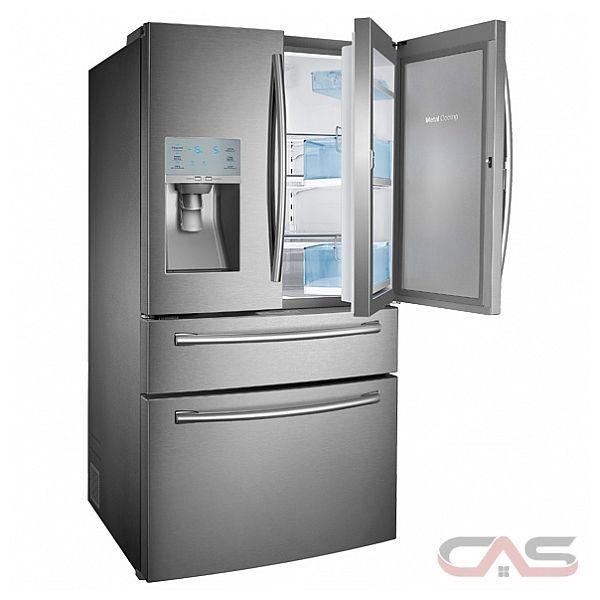 Samsung Rf30hbedbsr French Door Refrigerator 36 Quot Width
