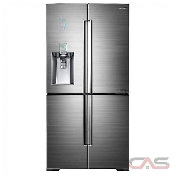 Collection rf34h9960s4 french door refrigerator 36 quot width thru door