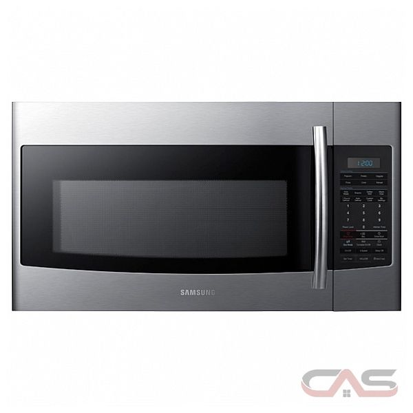 Samsung SMH1816S 1.8 Cu Ft Over The Range Microwave, 400 CFM, 1.8 cu. ft. Oven Capacity, 1100 Watts Cooking Power