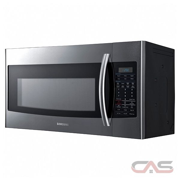 Samsung SMH1816S 1.8 Cu Ft Over The Range Microwave, 400 CFM, 1.8 cu ...