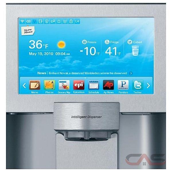 """, 48"""" Width, Thru Door Ice Dispenser, 26.5 cubic ft, Counter Depth ..."""