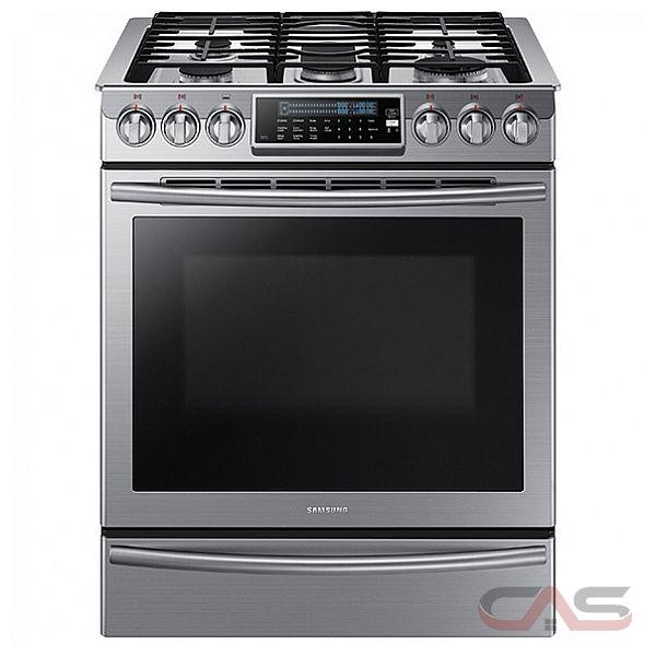 gas range. Samsung NX58H9500WS Range, Gas 30 Inch, Self Clean, Convection, 5 Range