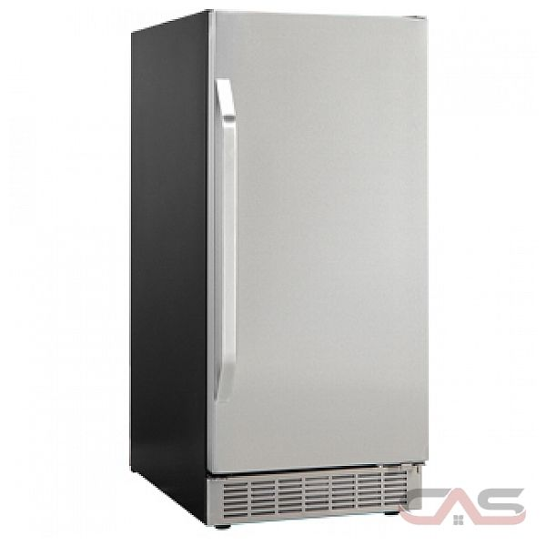 Silhouette DIM3225BLSST Undercounter Ice Maker, 15 in, with 32 lbs ...