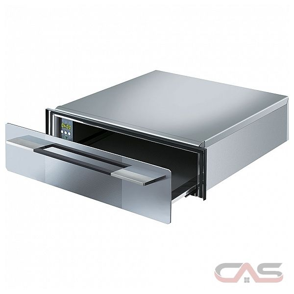 Smeg CTU15S Warmer Drawer, 24 Exterior Width, Stainless Steel colour