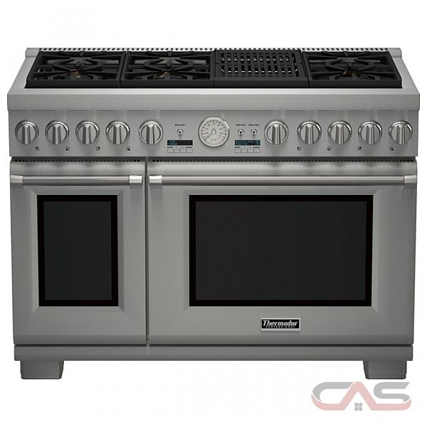 thermador professional series prg486nlg range gas range 48 inch