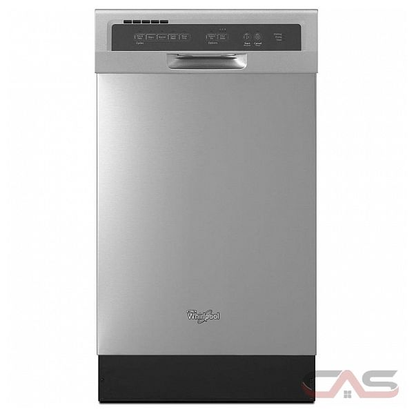 Whirlpool Wdf518saaw Whirlpool 18 In 57 Decibel Built In: Whirlpool WDF518SAAB Dishwasher Canada