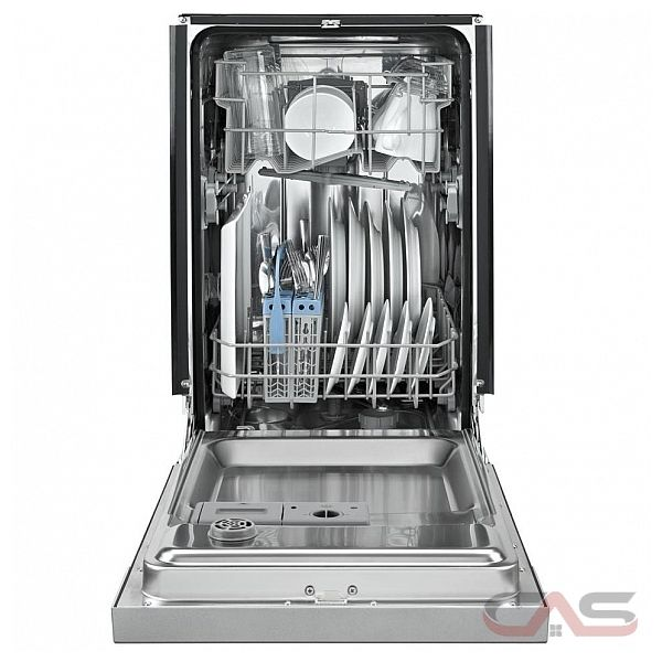 Whirlpool Wdf518saaw Whirlpool 18 In 57 Decibel Built In: WDF518SAFM Whirlpool Dishwasher Canada