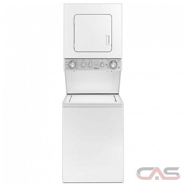 Apartment Size Washer Dryer Ottawa: YWET4024EW Whirlpool Washer Canada