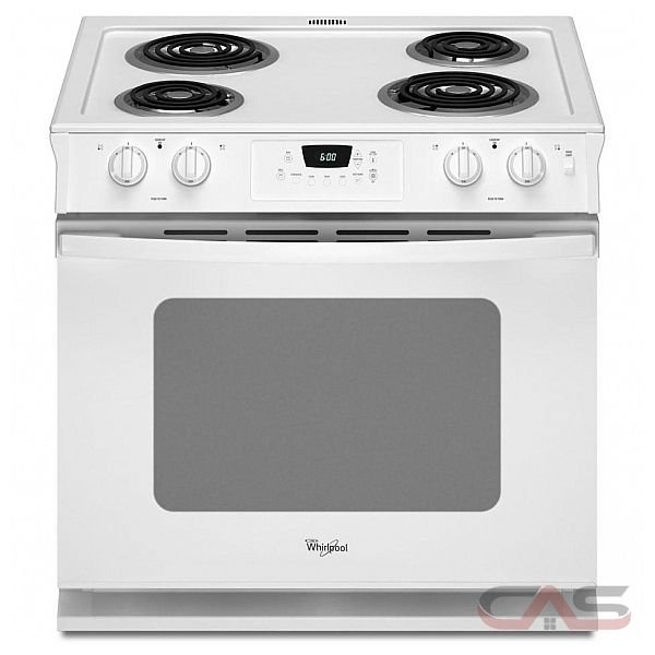 Electric Range: Whirlpool Accubake Electric Range on