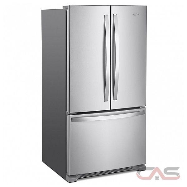 Whirlpool French Door Counter Depth Refrigerator: Whirlpool WRF540CWHZ Refrigerator Canada