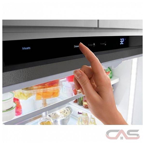 Whirlpool Wrf993fifm French Door Refrigerator 36 Quot Width