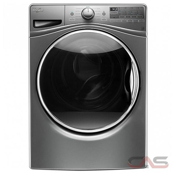 whirlpool wfw9290fc front load washer 27 width energy star efficient 4 8 cu ft capacity. Black Bedroom Furniture Sets. Home Design Ideas