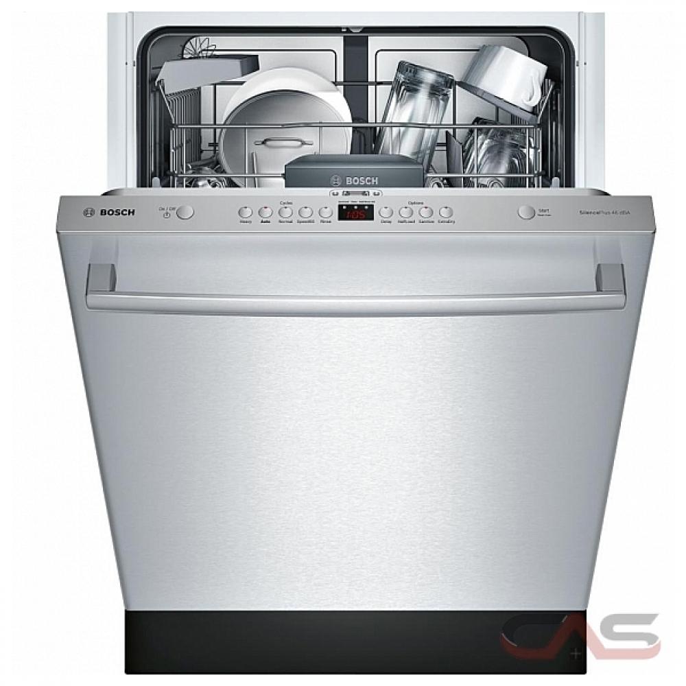Shop Samsung 55 Decibel Built In Dishwasher Stainless: SHX5AV55UC Bosch Ascenta Series Dishwasher Canada