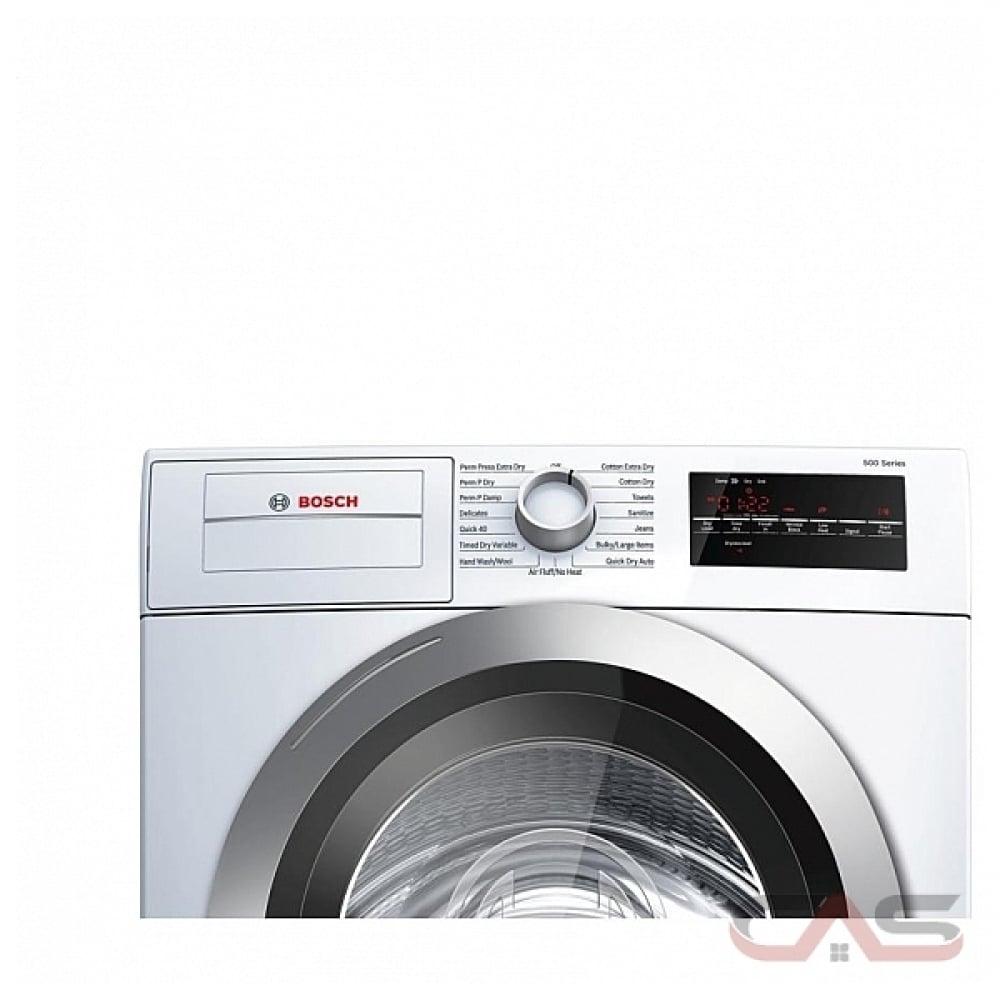 Wtg86401uc Bosch 500 Series Dryer Canada Best Price