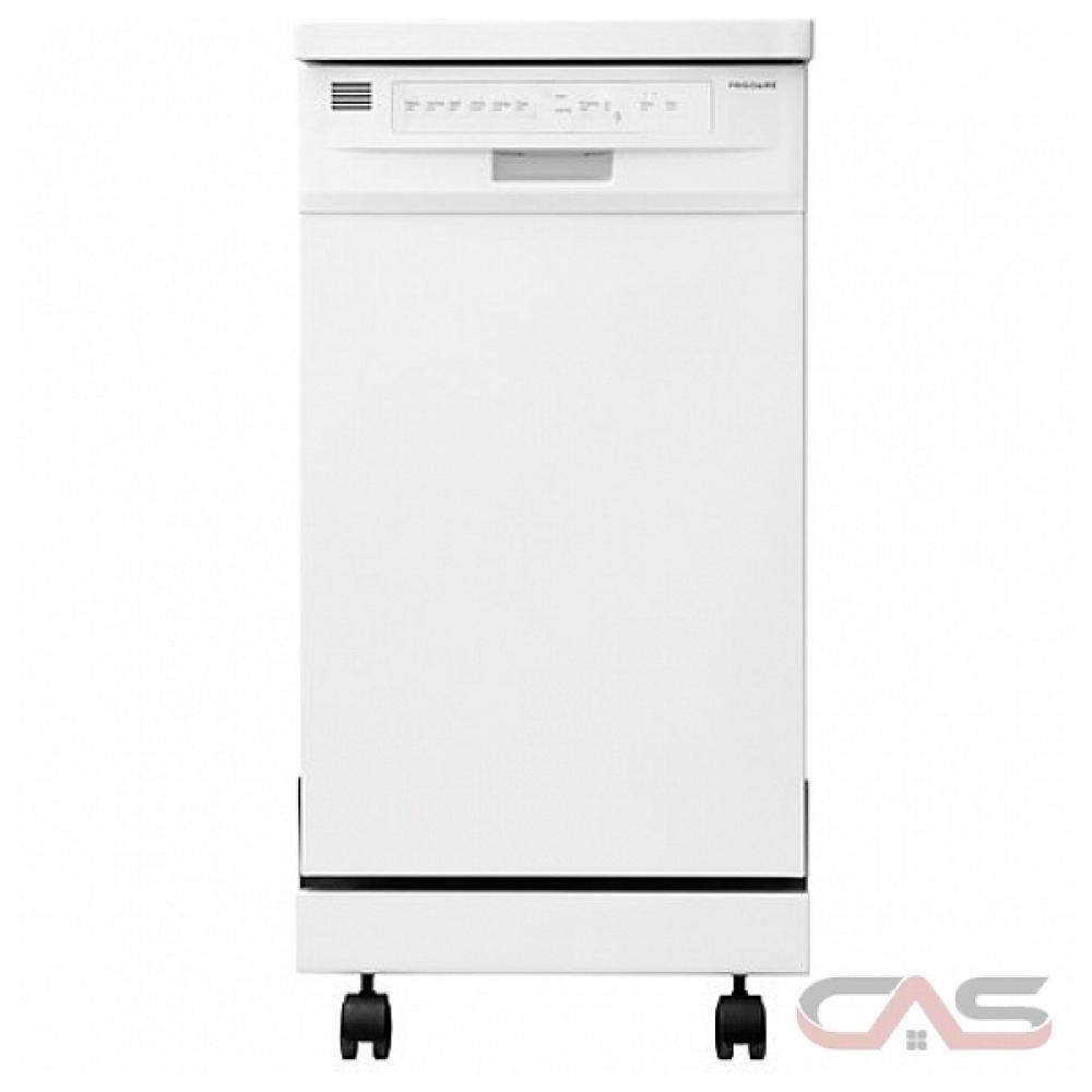Ffpd1821mw frigidaire dishwasher canada best price - Portable dishwasher stainless steel exterior ...