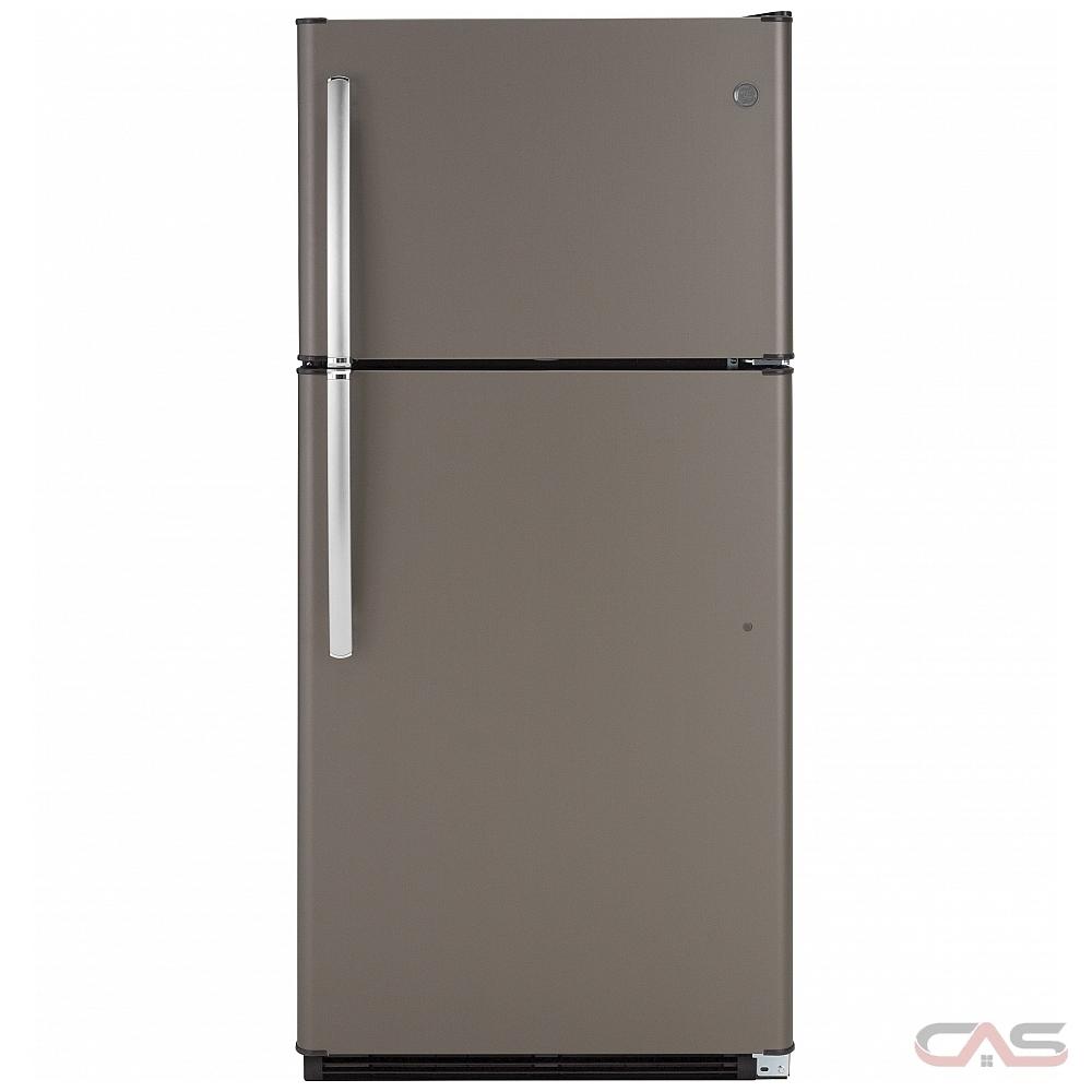 Ge Appliance Warranty >> Ge Gte18fmlkes Top Mount Refrigerator 30 Width 18 0 Cu Ft Capacity Led Lighting Energy Star Certified Slate Colour