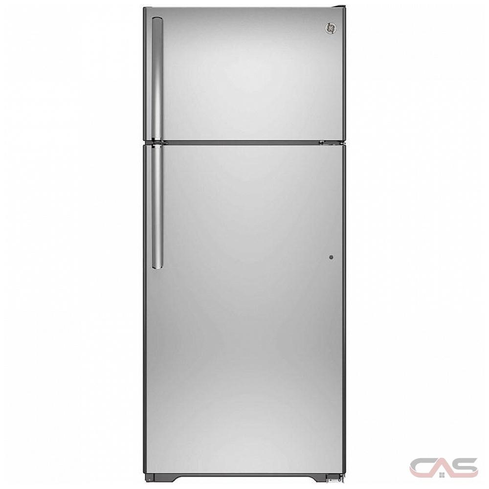 Ge Appliance Warranty >> Ge Gts18fslkss Top Mount Refrigerator 30 Width 18 0 Cu Ft Capacity Led Lighting Stainless Steel Colour