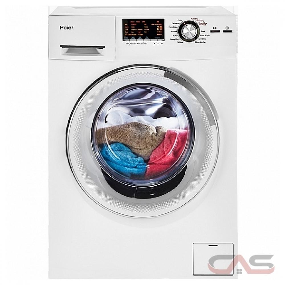 Apartment Size Washer Dryer Ottawa: HLC1700AXW Haier Washer Canada