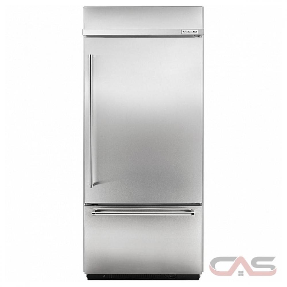Kitchenaid Built In Bottom Freezer Refrigerator: KBBR206EPA KitchenAid Refrigerator Canada