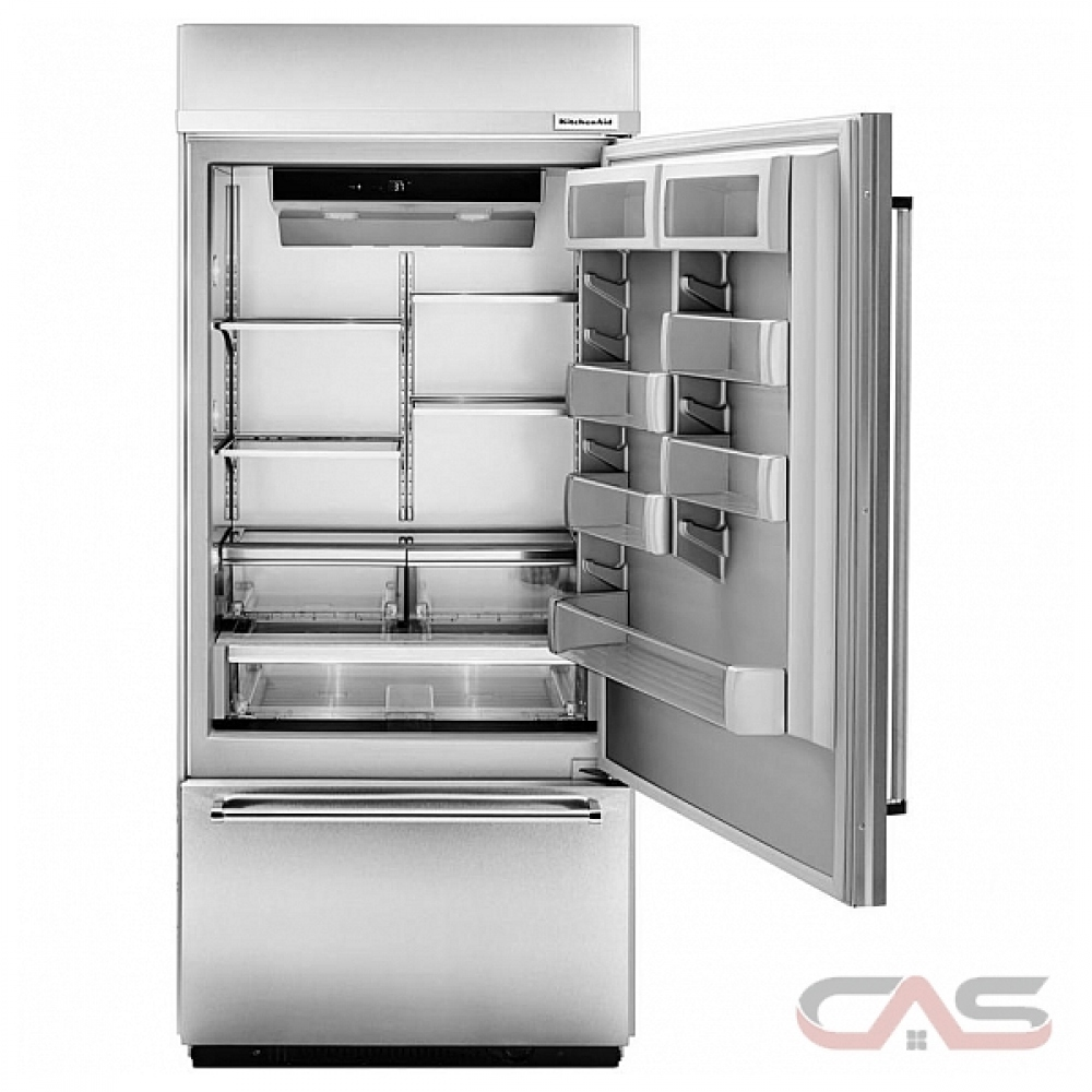 Kitchenaid Built In Bottom Freezer Refrigerator: KBBR306ESS KitchenAid Refrigerator Canada
