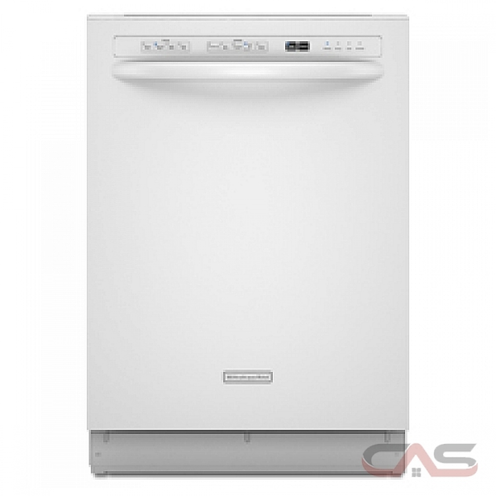 Kitchenaid Whisper Quiet Dishwasher: KUDS03CTWH KitchenAid Dishwasher Canada