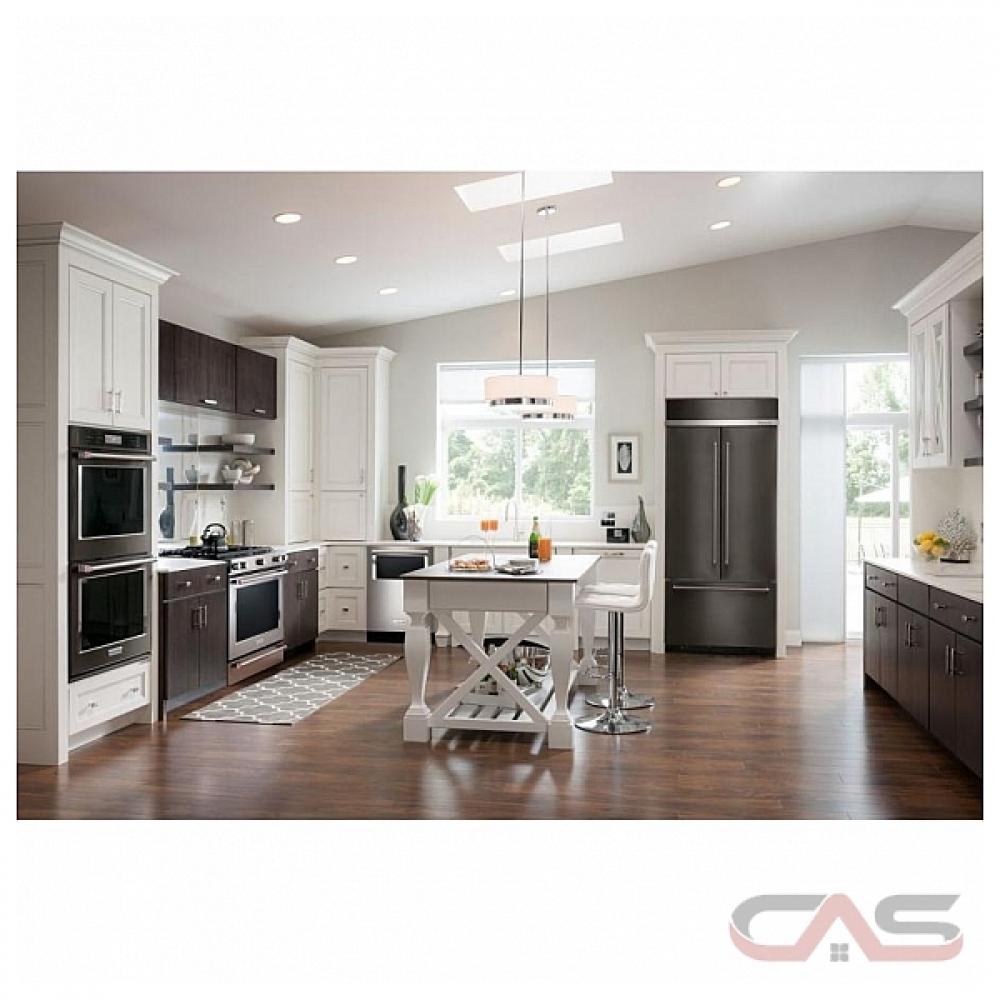 Kitchenaid Kbfn502ebs Bs 24 2 Cuft Black Stainless Steel 3: KBFN502EBS KitchenAid Refrigerator Canada