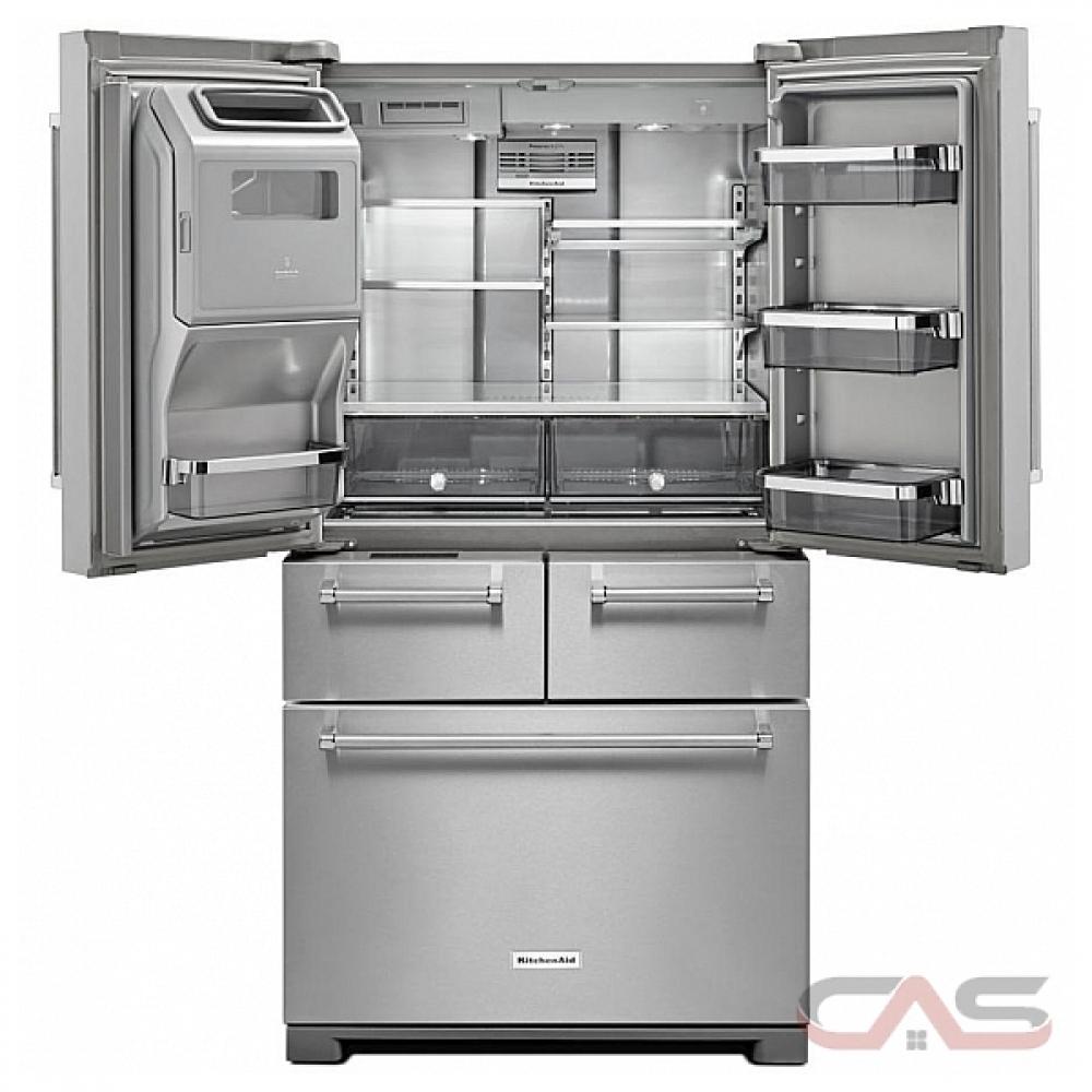 Kitchenaid French Door Refrigerator: KRMF706ESS KitchenAid Refrigerator Canada