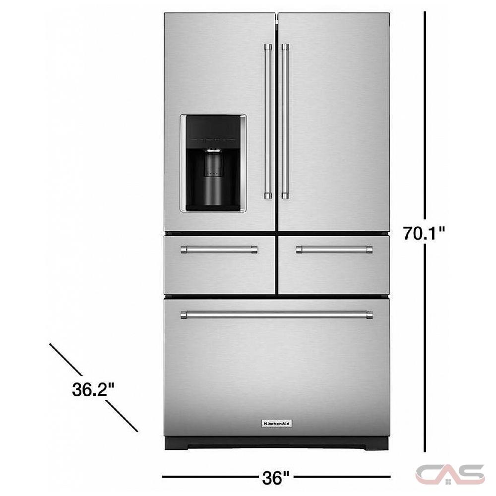 Krmf706ess Amp Kfdd500ess From Canadian Appliance Source