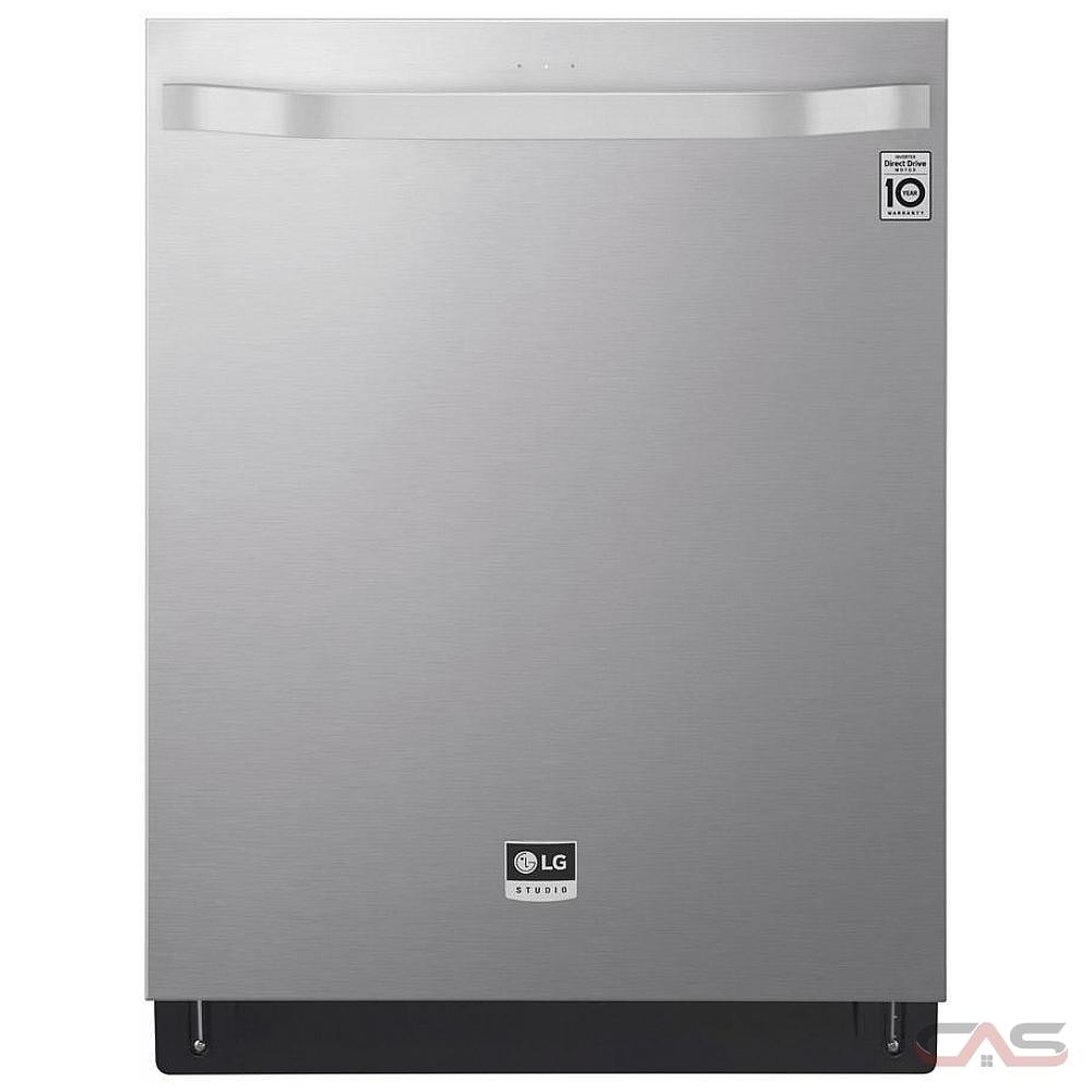 LG LSDT9908SS 24-in Top Control QuadWash® Steam Dishwasher