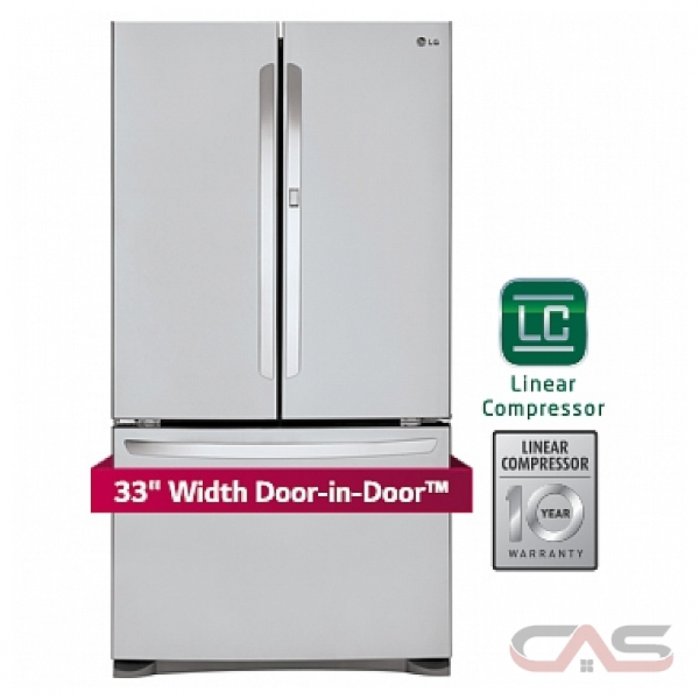LFCS25663S LG Refrigerator Canada - Best Price, Reviews and