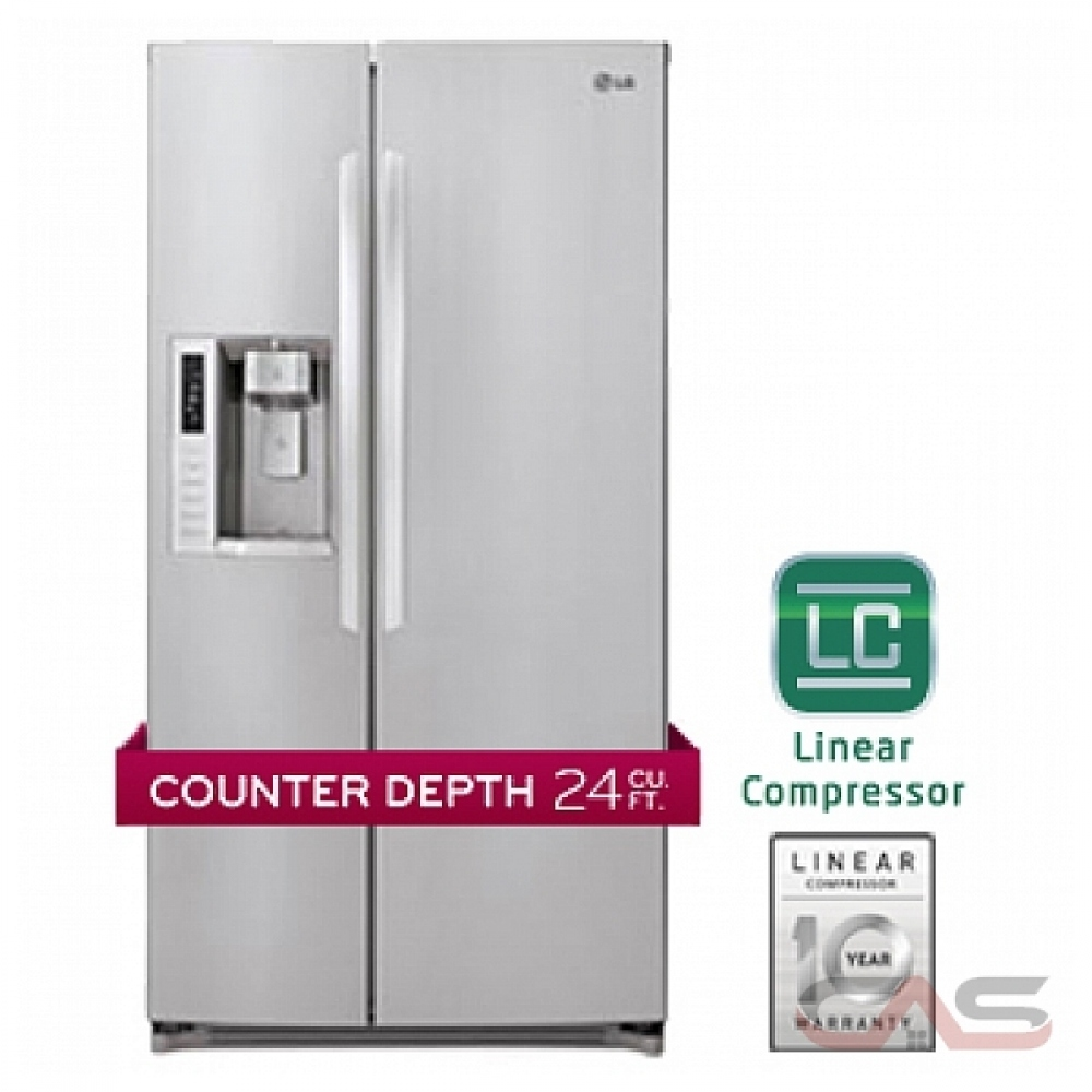 Lsc24971st Lg Refrigerator Canada Best Price Reviews