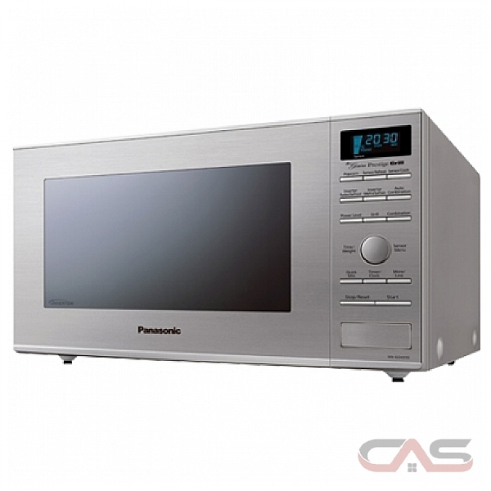 Panasonic NNGD693SC Countertop Microwave, 20 Exterior Width, 1000 Watts,  1 1 Capacity, Stainless Steel colour