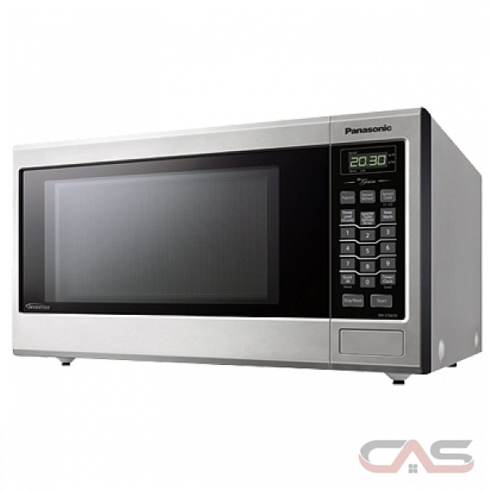 Panasonic NNST663SC Countertop Microwave, 20 Exterior Width, 1200 Watts,  1 2 Capacity, Stainless Steel colour