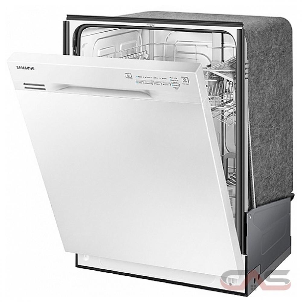 Shop Samsung 55 Decibel Built In Dishwasher Stainless: DW80J3020UW Samsung Dishwasher Canada
